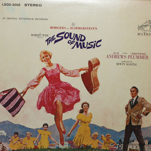 "The Sound Of Music<br>Soundtrack <br>12"" Vinyl Clock"
