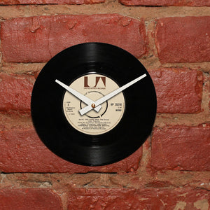 "C.C.R - Have You Ever Seen The Rain 7"" 45 RPM Single - Handmade Vinyl Record Clock Using Original 45"