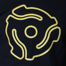 Long Sleeve<br> Yellow Stenciled <br>45 Spacer Original<br>T-Shirt Design