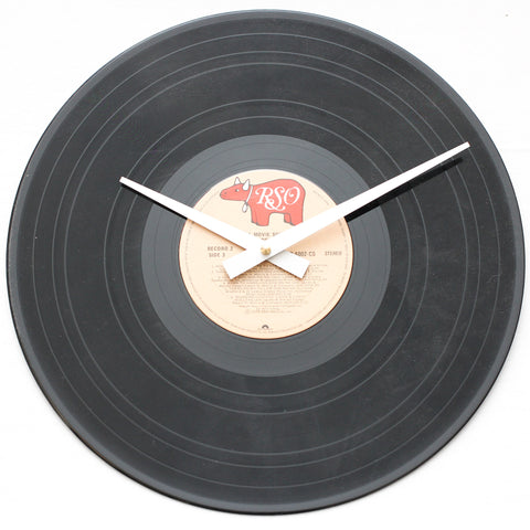 "Grease<br> Soundtrack Record 2 <br>12"" Vinyl Clock"