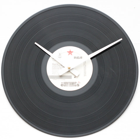 "Eurythmics<br> Touch <br>12"" Vinyl Clock"