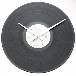 "Bryan Adams<br>Cuts Like A Knife<br>12"" Vinyl Clock"