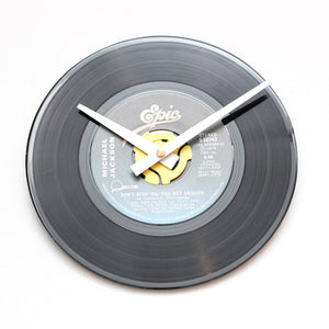 "Michael Jackson<br>Don't Stop Till You Get Enough<br>7"" Vinyl Clock"