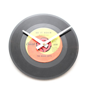 "Beach Boys<br>Do It Again<br>7"" Vinyl Clock"