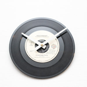 "Rod Stewart<br>Downtown Train<br>7"" Vinyl Clock"
