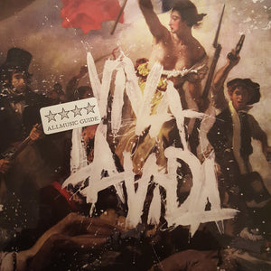 "ColdPlay - Viva La Vida 12"" Vinyl Clock"