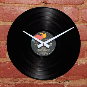 Foreigner - Agent Provocateur - Handmade Vinyl Clock From Original LP Record