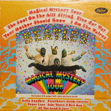 The Beatles - Magical Mystery Tour - Handmade Authentic Vinyl Clock Using Original LP Record