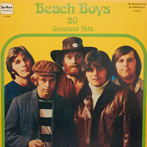 Beach Boys - 20 Greatest Hits - Handmade Vinyl Record Clock Using Original LP