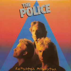 The Police - Zenyatta Mondatta - Authentic Vinyl Clock Made From Original LP Record