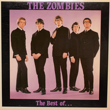 The Zombies - Best Of - Authentic Vinyl Clock Made From Original LP Record