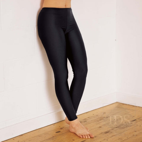 Cotton feel footless leggings