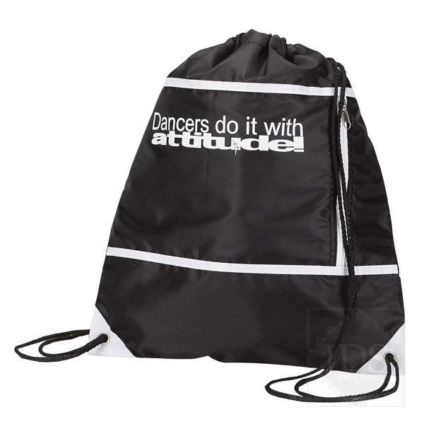Black ballet sac bag