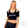 Adult attitude crop top