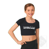 Child attitude crop top