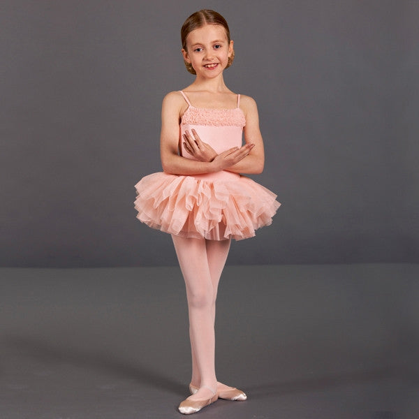 Bloch Desdemona Girls Pink Tutu Leotard
