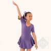 "Lavender ""Hannah"" skirted leotard"