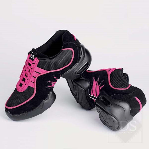 Pink split sole street dance sneakers