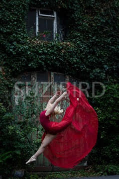 Red Dress print - The Bristol Ballerina project