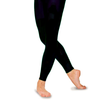 Black Roch Valley footless leggings