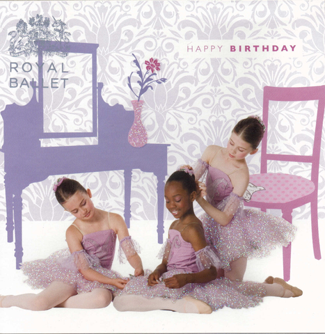 Happy Birthday Royal Ballet greeting card