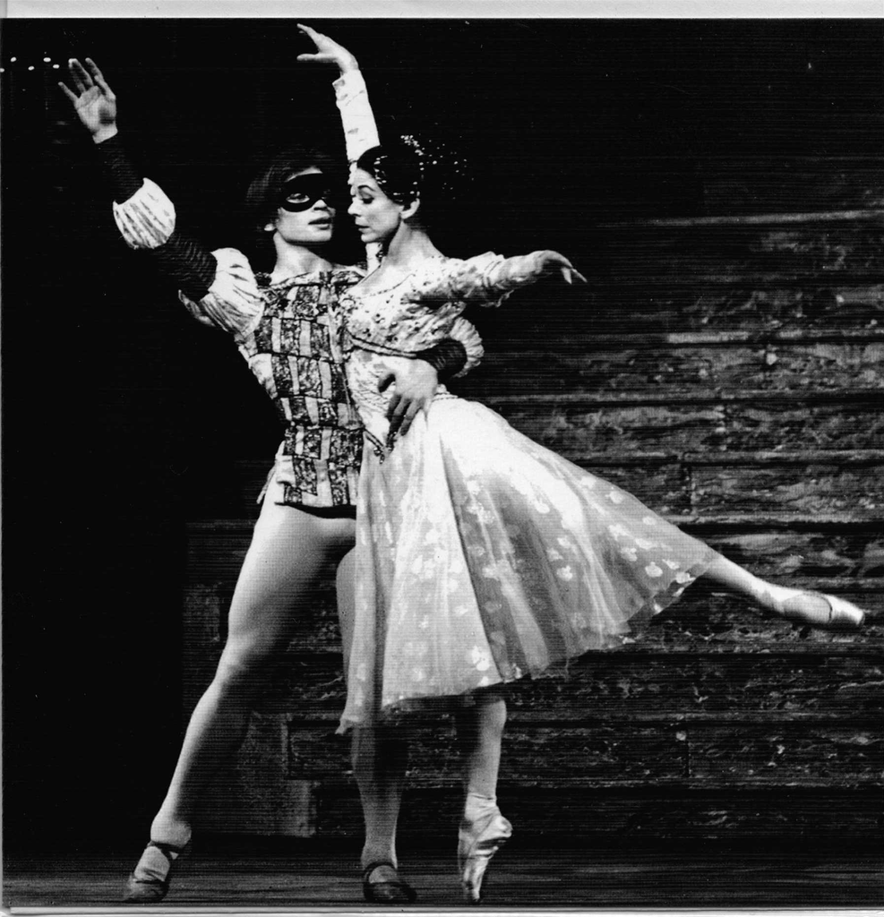 Fonteyn and Nureyev Royal Ballet greeting card