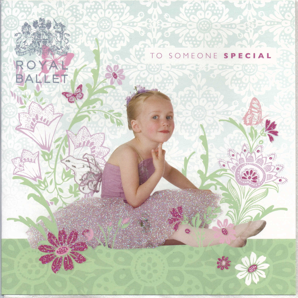 Someone special Royal Ballet greeting card
