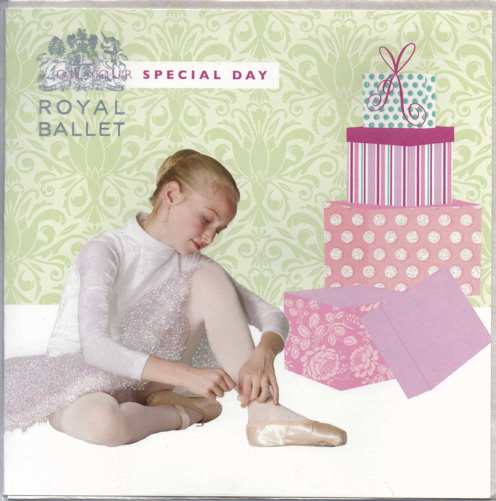 Special Day Royal Ballet greeting card