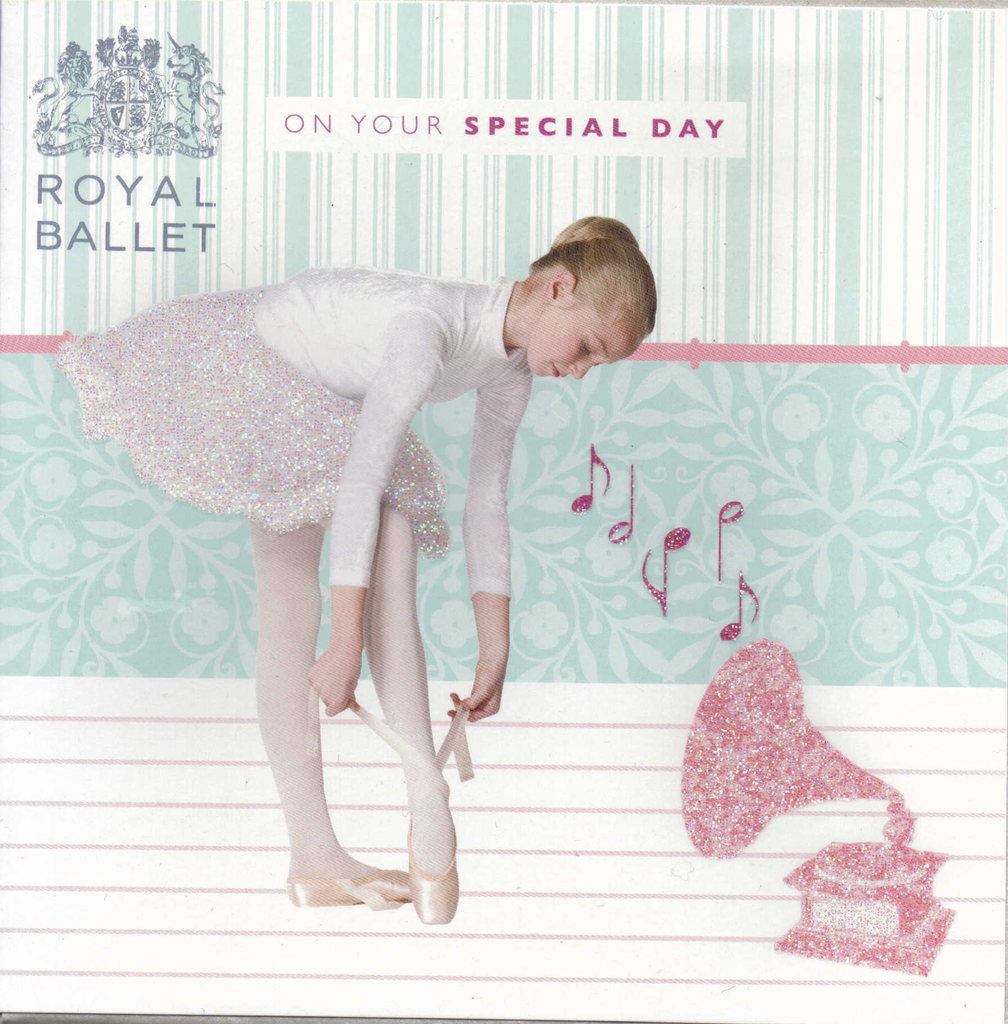 On your special day Royal Ballet greeting card