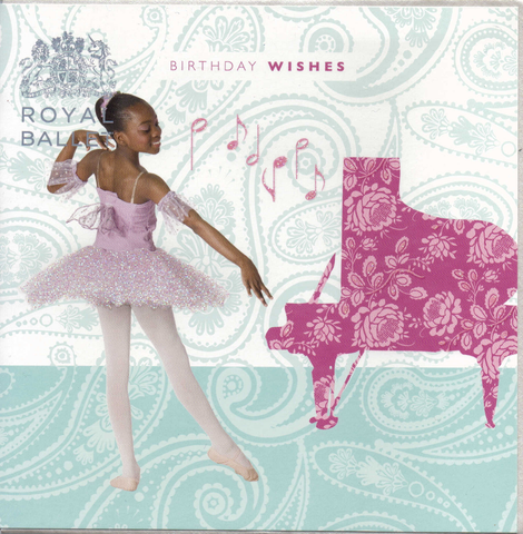 Ballet Birthday Wishes Royal Ballet greeting card