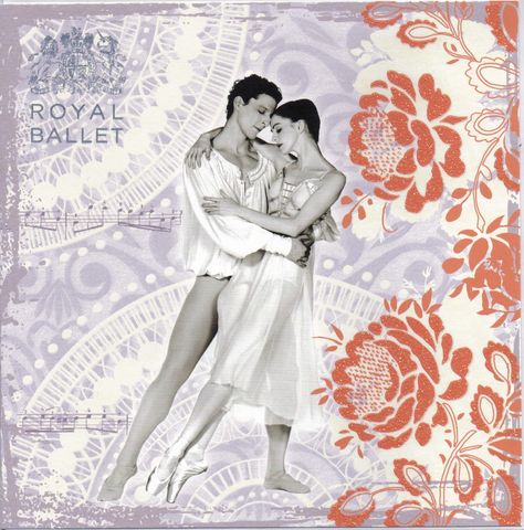 Romeo and Juliet Royal Ballet greeting card