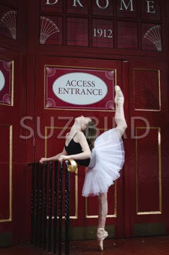 Stage Door print - The Bristol Ballerina project