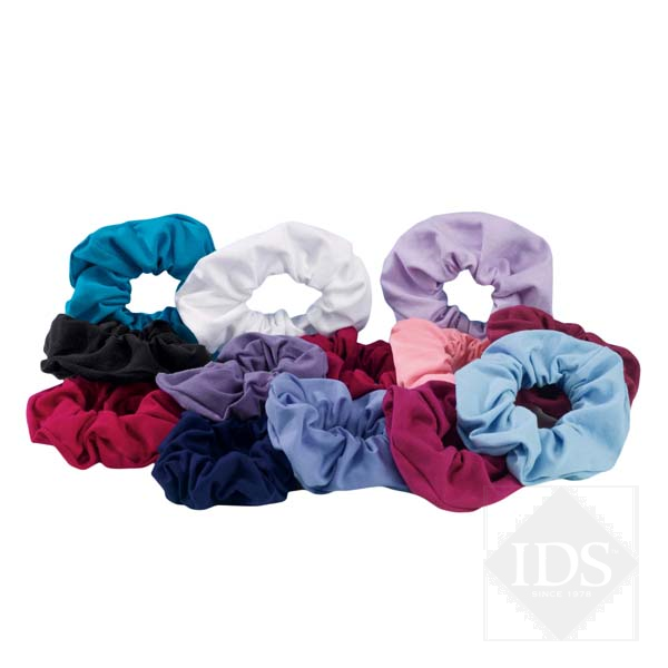 Cotton poly ballet scrunchies