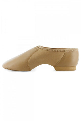 Bloch Neo Flex (Tan) Pull On Split Sole Shoes