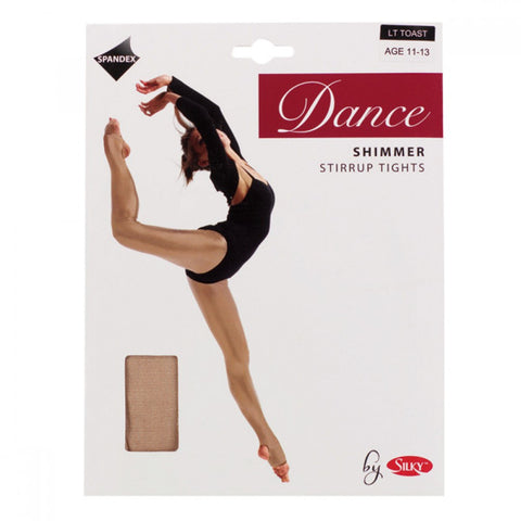 Dance Shimmer Stirrup Tights