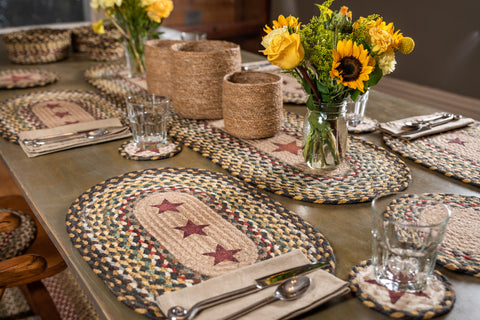 Earth Rugs | Eco Chic Braided Rugs, Table Accents, Baskets U0026 More