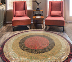 Braided Rugs - Rounds