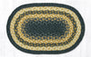 MS-079 Light & Dark Blue/Mustard Miniature Swatch