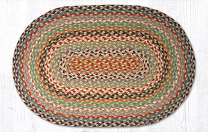 C-328 Multi 1 Braided Rug