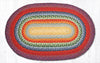 C-400 Rainbow 1 Braided Rug