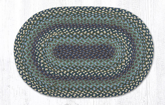 C-503 Blueberries & Cream Braided Rug