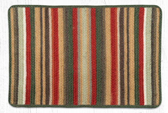VR-300 Terracotta/Cactus Braided Rug