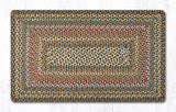C-051 Fir/Ivory Braided Rug