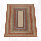 C-300 Honey/Vanilla/Ginger Braided Rug