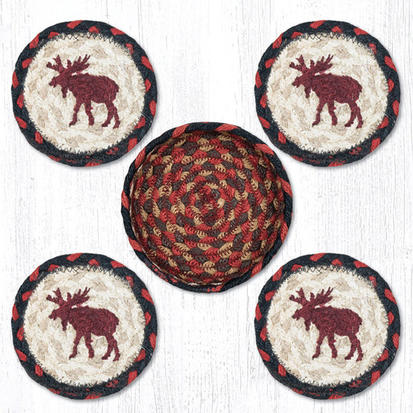 CNB-019 Moose Coaster Set