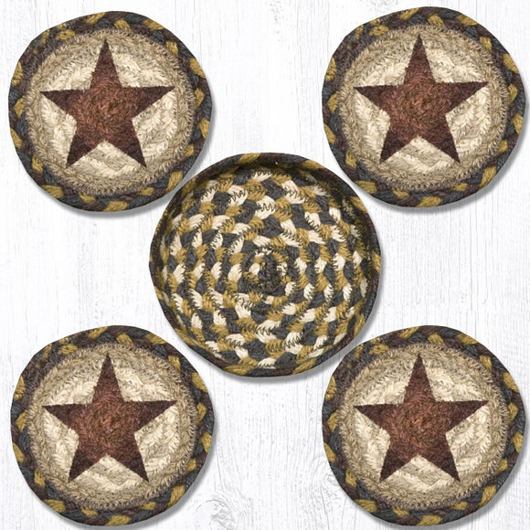CNB-051 Gold Star Coaster Set