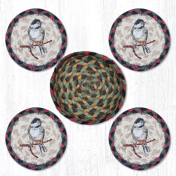 CNB-081 Chickadee Coaster Set