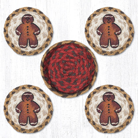 CNB-111 Gingerbread Man Coaster Set