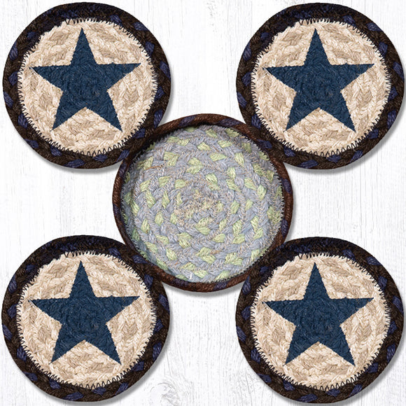 CNB-312 Blue Star Coaster Set