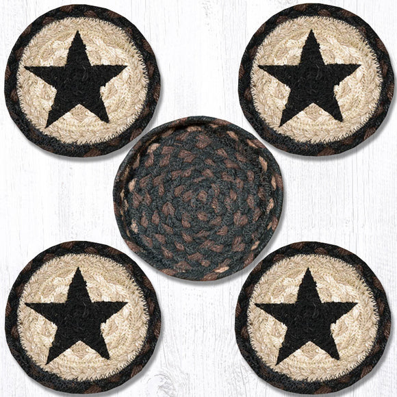 CNB-313 Black Star Coaster Set